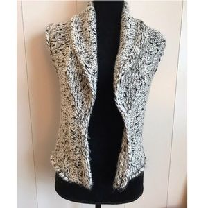 Ann Taylor LOFT Wool Blend Vested Cardigan Wrap
